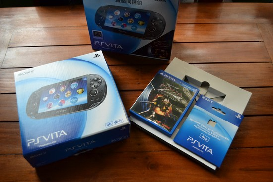 Unbox/Review: Sony PlayStation Vita - TJS Daily