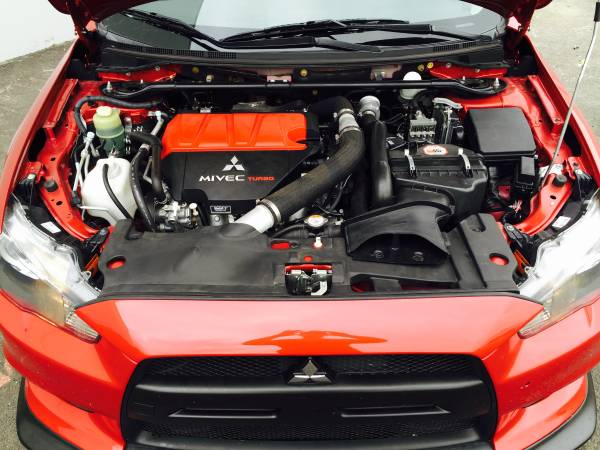Mitsubishi Lancer Evolution EVO X Engine
