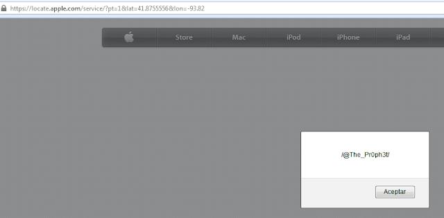 XSS Vulnerability in Apple website