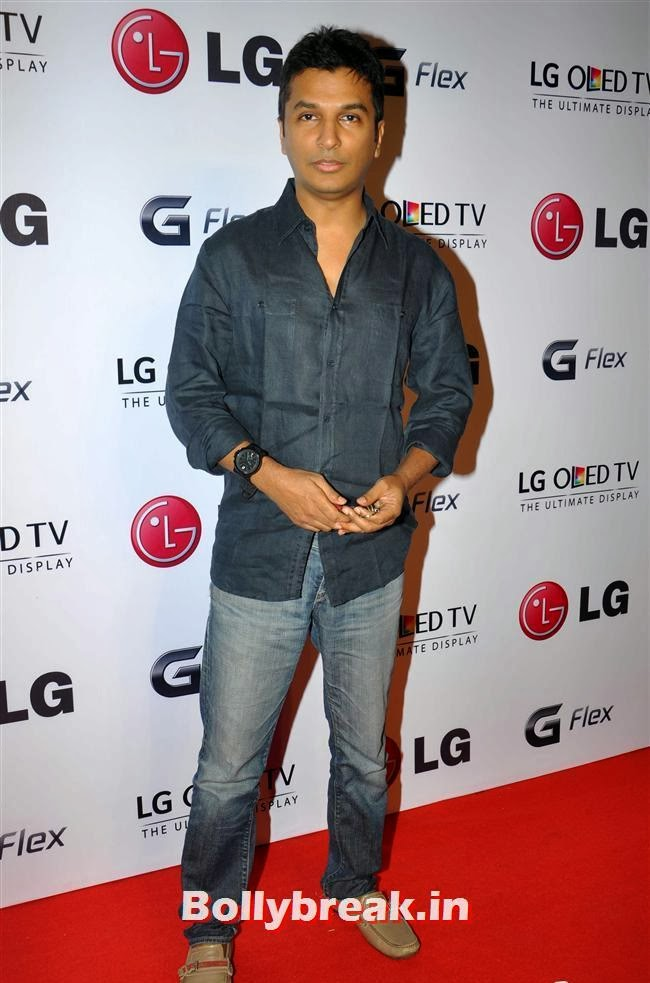 Vikram Phadnis, Celebs at LG G Flex Smartphone Launch