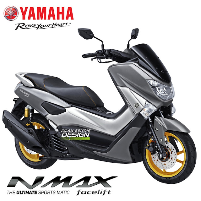 Yamaha Hadirkan, NMAX 155 Model 2018