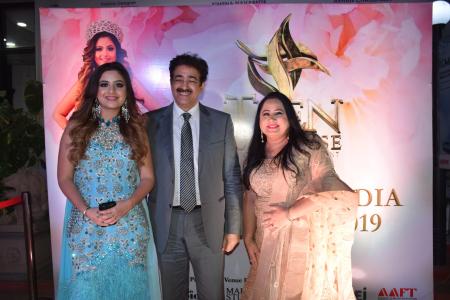 Miss Teen Universe India 2019 At Marwah Studios Asian News Agency