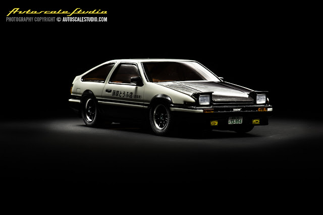 mzg10id2 initial d ae86 trueno carbon bonnet fujiwara takumi autoscale studio. Black Bedroom Furniture Sets. Home Design Ideas