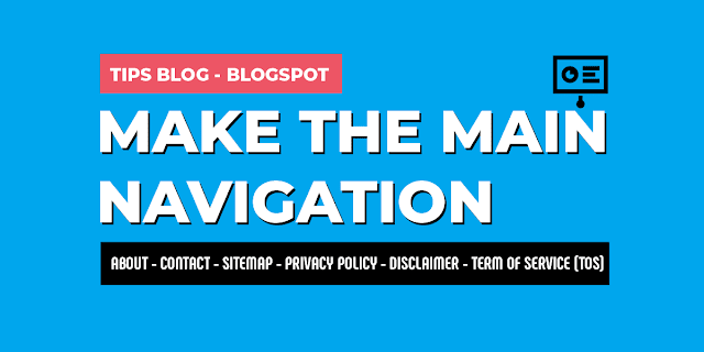 How-to-Make-The-Main-Navigation-on-Blogspot