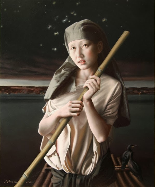 Ma Jing Hu | Chinese Figurative Painter  | 1974
