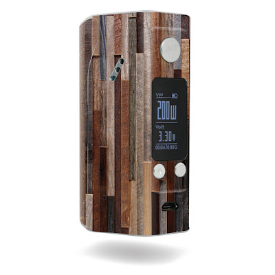 How About This Woody look Wismec Reuleaux RX200S ?