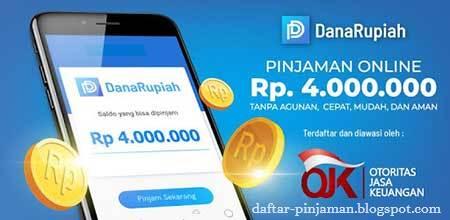 Pinjaman Online Dana Rupiah Daftar Pinjaman
