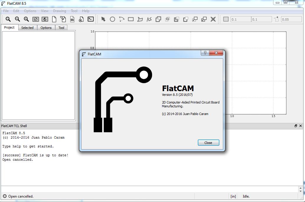 FlatCAM, Software Gratis Untuk Mendesain Router CNC