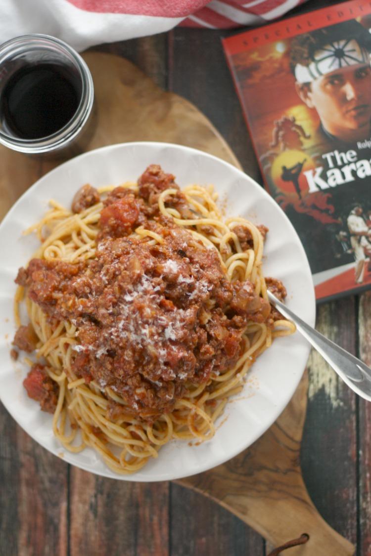Spaghetti di LaRusso | The Karate Kid