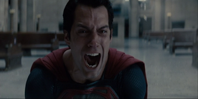 Superman gets his cry on.