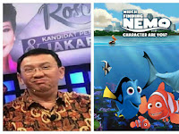 Ahok Sesumbar Dirinya Seperti Film Nemo, Netizen: Nemo Tak Bicara Kotor