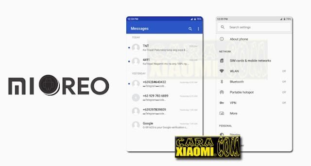 Download Link MIUI Theme MiOreo Mtz For Xiaomi Redmi V9 Theme Update Experience Theme Oreo Android