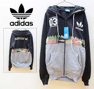 Jaket & Sweater Fleece Hoodie Adidas ADS007