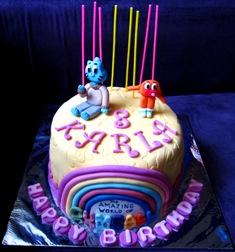 Itsybitsy Bite Gumball Cake For Karla
