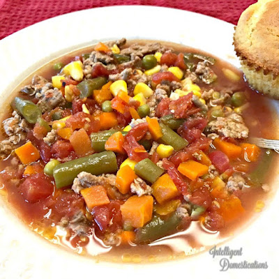 homemade vegetable soup recipe 6 ingredients