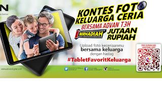 Kontes Foto Advan #TabletFavoritKeluarga  Berhadiah Total 3 Juta