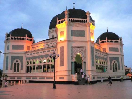 Gambar Masjid Raya Medan Sumatera Utara