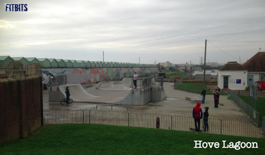 FitBits | Skateboarding in Brighton - Hove Lagoon