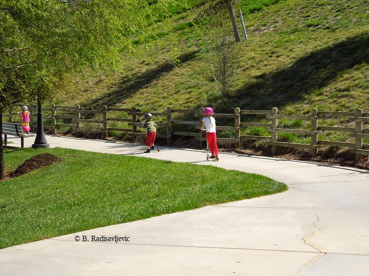 Barney Schwartz Park is Paradise for Kids
