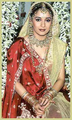 madhuri dixit wedding dress |Shaadi Online