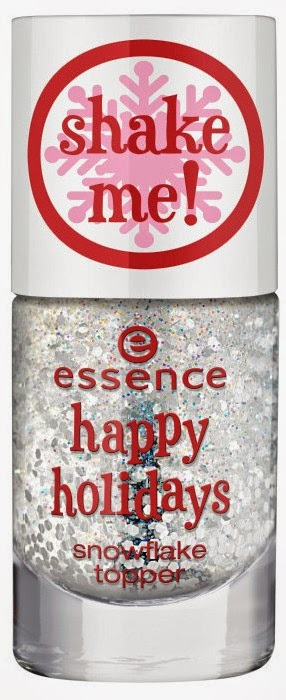 essence happy holidays – snow flake topper