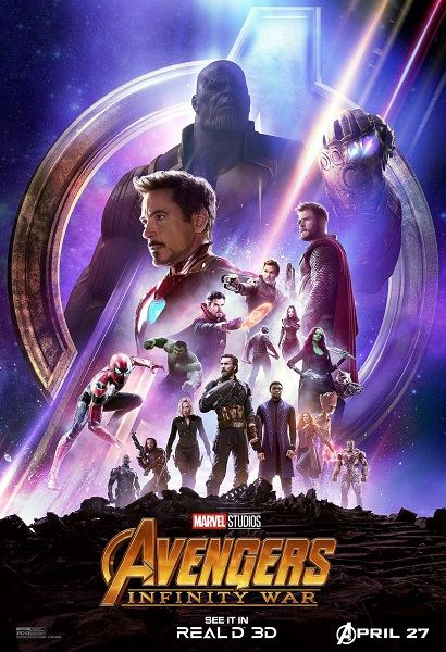 Avengers: Infinity War Real D 3D