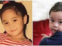 Fakta Artis : Bikin Pangling, 9 Anak Seleb Berikut Rupanya Kembaran Orangtua Kala Masih Kecil