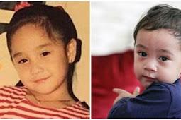 Bikin Pangling, 9 Anak Seleb Berikut Rupanya Kembaran Orangtua Kala Masih Kecil