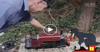 Tom and Jerry Train Is Real! (Video)