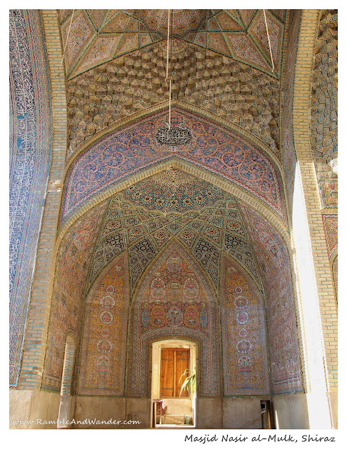 Iran: Masjid Nasir al-Mulk Mosque in Shiraz - Ramble and Wander