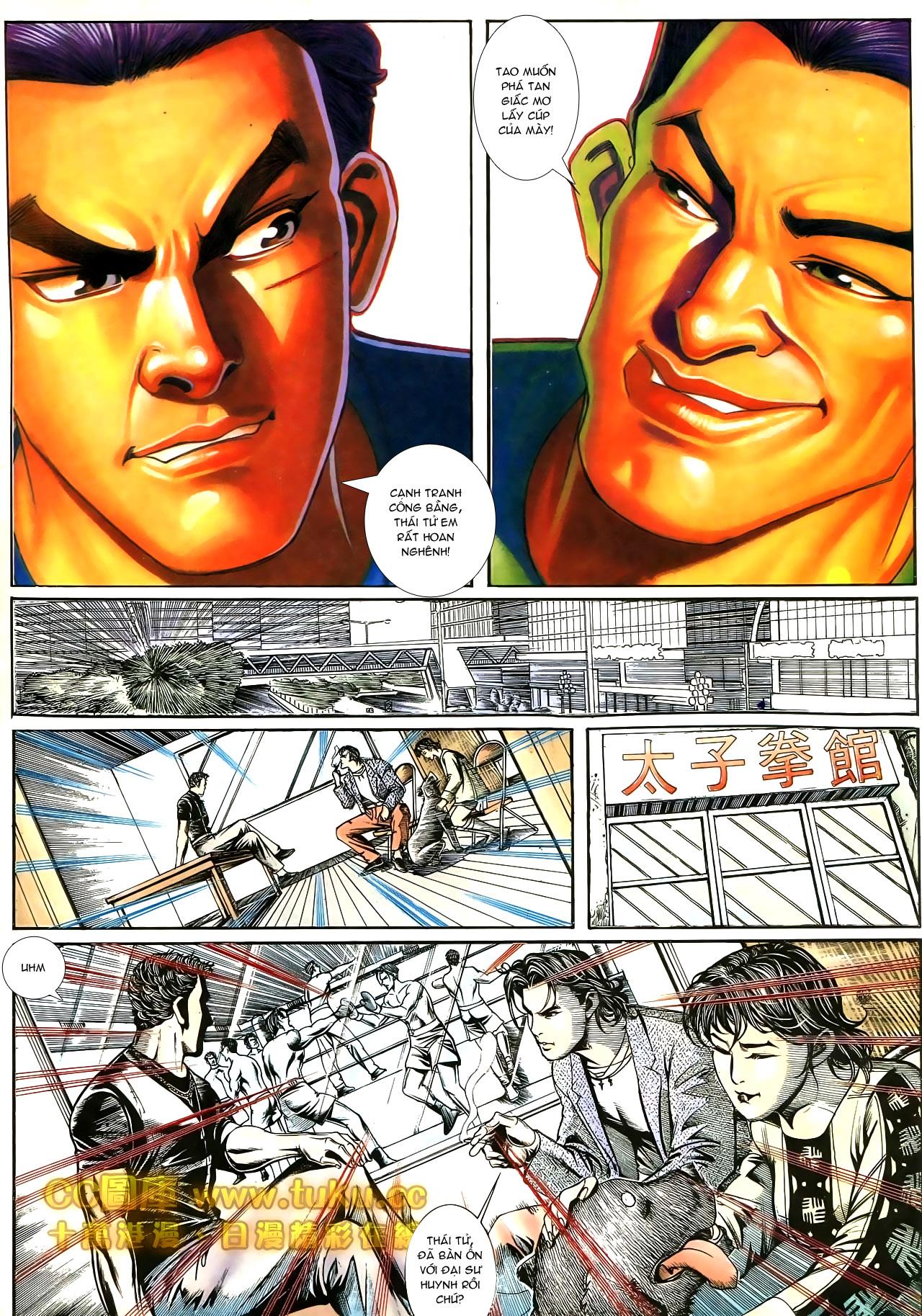 Người Trong Giang Hồ chapter 187: huynh đệ tình trang 8