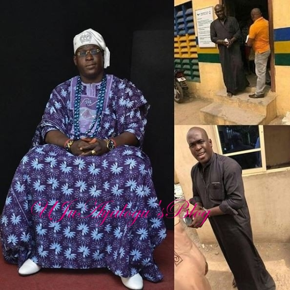 BUSTED: Suspected 'fake' OBA arrested in Lagos(Pictured)