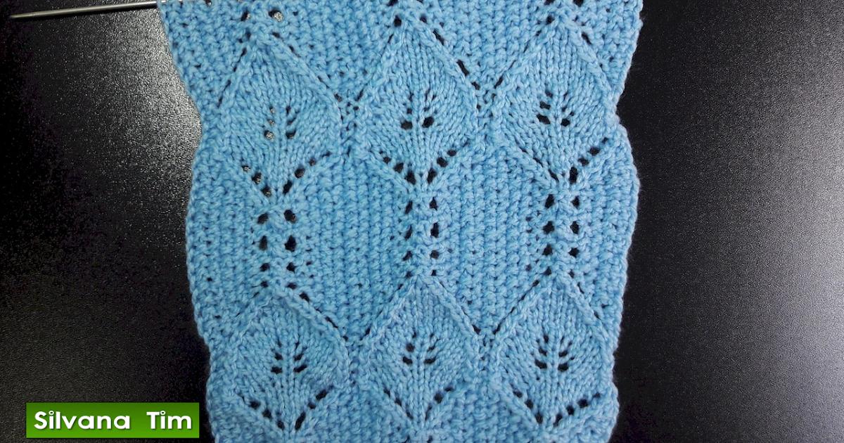 Silvana tim tejido con dos agujas puntos patrones de tejido clase de tejido con dos agujas - Puntos para tejer con dos agujas ...