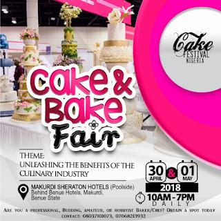 EventAlert: Cake Festival Nigeria 2018
