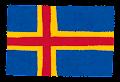 オーランド諸島の国旗