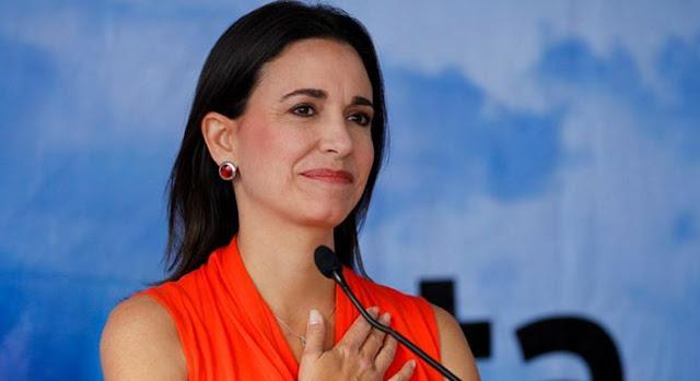 María Corina Machado invitada hoy a la ONU pero no la dejan salir de Venezuela