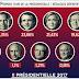 #Presidentielle2017 : Résultats définitifs des 11 candidats du premier tour