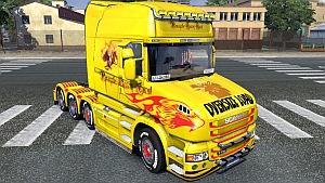 Heavy Haul skin for Scania T