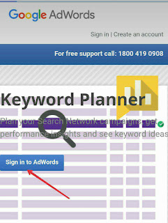 Google keywords planner ka use Blog me kaise kre