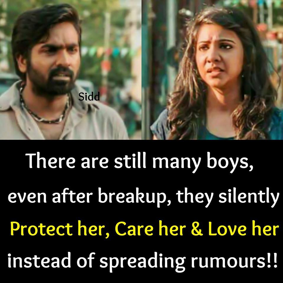 Tamil Cinema Love And Love Failure Quotes