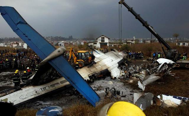 US-Bangla Airlines plane crashes at Kathmandu airport, 49 killed