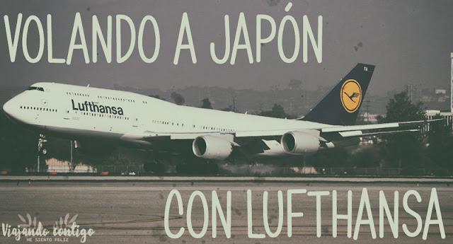 Volando a Japón con Lufthansa