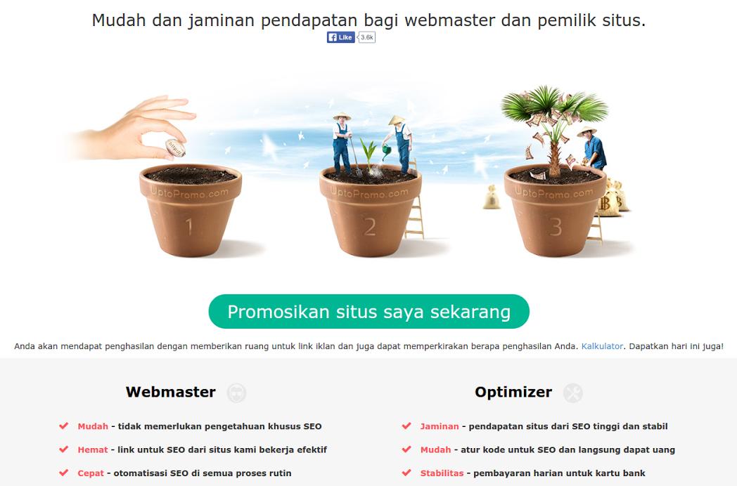 Uptopromo.com Webmaster