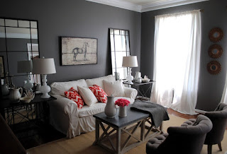mineral gray themed room
