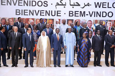 Photo-News; President Buhari Poses With Other African Leaders In Equatorial Guinea