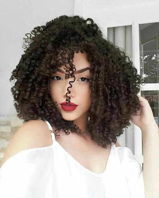 Curly haitsyle