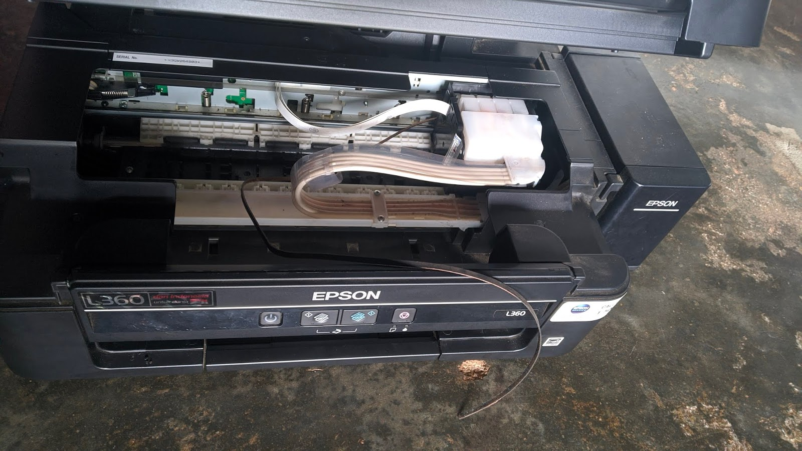 Mengganti Timing Belt Epson L360 Putus