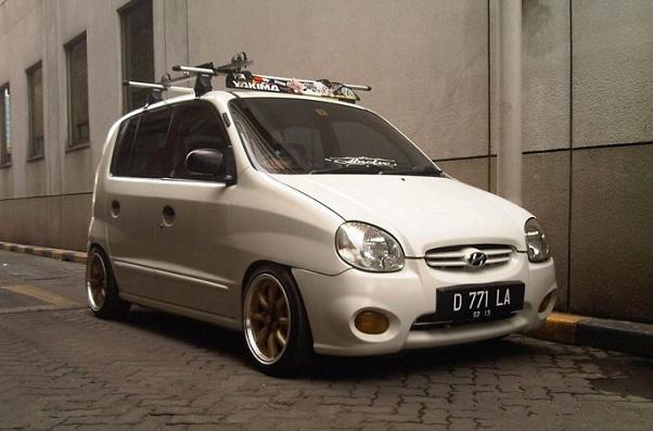 Kumpulan Modifikasi Hyundai Atoz Yang Keren Banget