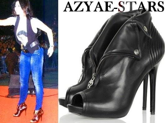 8b9e6f0a8 مجموعة أحذية للملكة هيفاء وهبي باللون الأسود 2013 ~ أزياء ستار