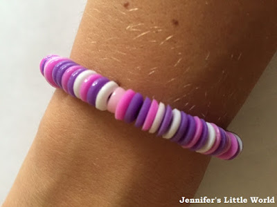 Melted Hama bead bracelet